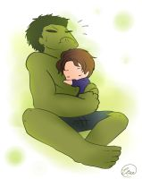 Mark Ruffalo is the best Hulk by ChibiGuardianAngel