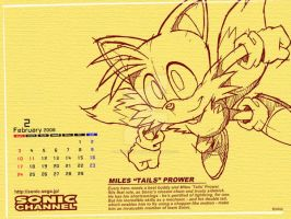Tails Miles Fox Wallpaper by Aniken-Style