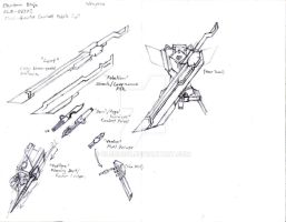 Blade Project: Weapons by CLeRu087