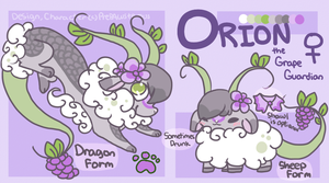 :Orion V2. Ref Sheet: by PrePAWSterous