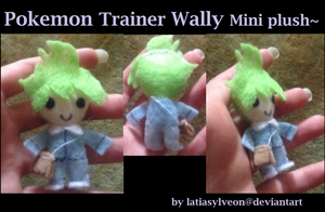 Pokemon  Trainer Wally Mini Plush~ by Latiasylveon