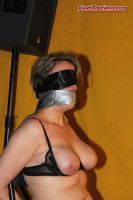 Lyrena heavily gagged and exposed. by PhMBond