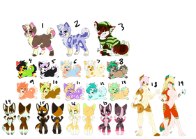 Left Over Adopts CLOSED by Flame-Expression