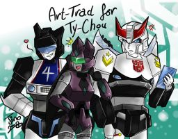 TF:- Art-Trade for Ty-Chou by JinoSan
