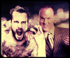 [WWE] CM Punk and Paul Heyman by TarghanM