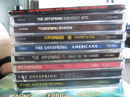 Offspring albums 1987-2008 by CrookedLynx