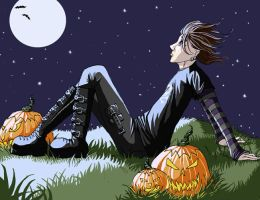 Waiting for the Great Pumpkin by str4yk1tt3n