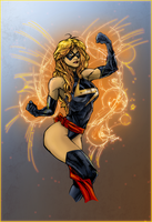 Ms. Marvel by SparkStudios