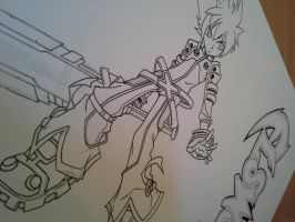 Elsword, working on it! by delPuertoSisters