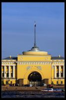Cityscape in Petersburg III by Wyco