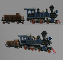 Mighty Eagle R.R Locomotive #1 ''Mineral''-Revised by theIronHorse319