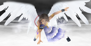Yuna with Wings by Sukey by sukeyfpt