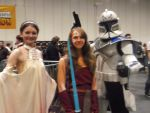 Padme, Ahsoka and Captain Rex. by PurpleWillowTrees