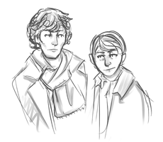 Why am I uploading this again-Sherlock by coffeeatthecafe