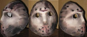 Jason Vorhees Hockey Mask by paperart