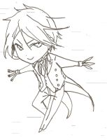 Chibi Sebastian by Cielcplay