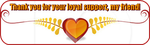 Loyal Support Divider by AudraMBlackburnsArt
