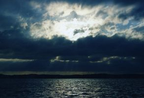 I see skies of blue by samfrei