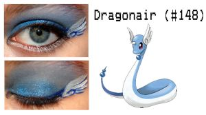 Pokemakeup 148 Dragonair by nazzara