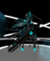 MMD Cyber Space by Xenosnake