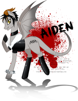 Aiden the Incubus by YukiAdoptablesPonies