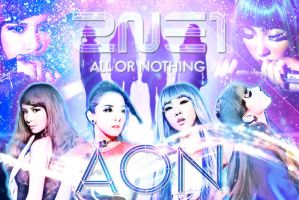 Wall 2ne1 Aon Ver by RainboWxMikA
