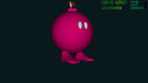 Day 7-2: Bomb Omb WideScreen by AlleycatCY