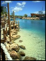 Clear water Curacao by simoner