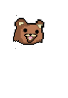 8bit pedobear by PhD-Bird