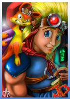 JAK and DAXTER-web by marmo98