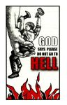 GOD says please do not go to HELL by Rashad97