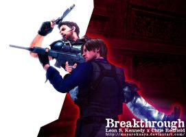 Breakthrough - Leon S. Kennedy x Chris Redfield by mayarokuaya