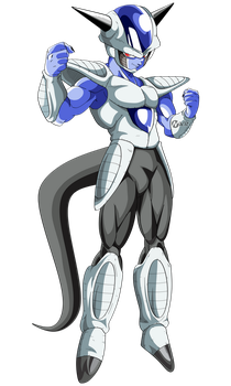 frost dragon ball super by naironkr