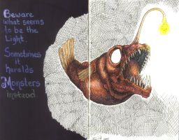 Angler Fish by hydraa