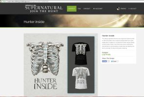 Supernatural t-shirt design contest by LilyThula