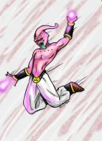 Kid Buu by MajinNeda
