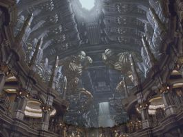 Riddick matte painting by danielsyzygy