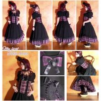 My first dress Lolita-style by MilkyBerry