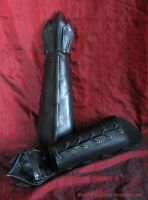 Black Dragon Bracers 1 by Fantasy-Craft