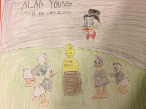 A Funeral for Uncle Scrooge by Goofermutt