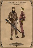 Character Class: Gunsmith by Machina-Obscura