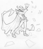 Twisted Fate sketch by Cariman