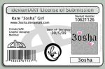 my DA License by 3osha