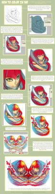 My speed paint style Tutorial by Lavah