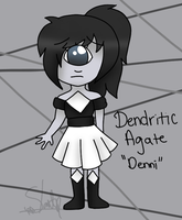 Dendritic Agate (Denni) by Ladyadorkable