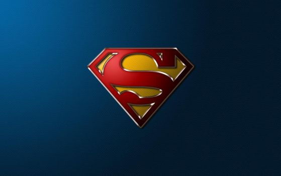 Superman S-Shield Wallpaper (without Flair) by SUPERMAN3D