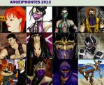 My art for 2013 by argeiphontes