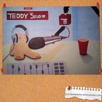 Teddy's studio by Just-Samantha