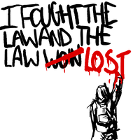 I fought the law by mahons