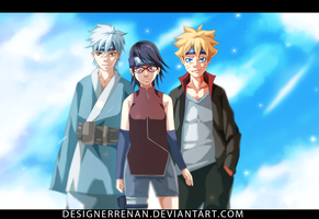 Boruto - The New team Born by DesignerRenan